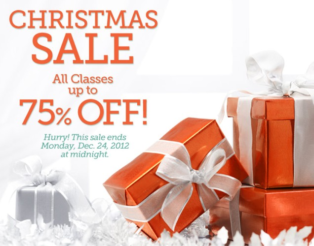 Craftsy Christmas Sale