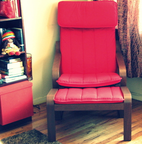 New Red Chair I