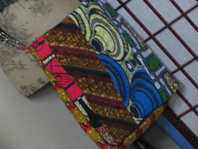 Ghanian print bag