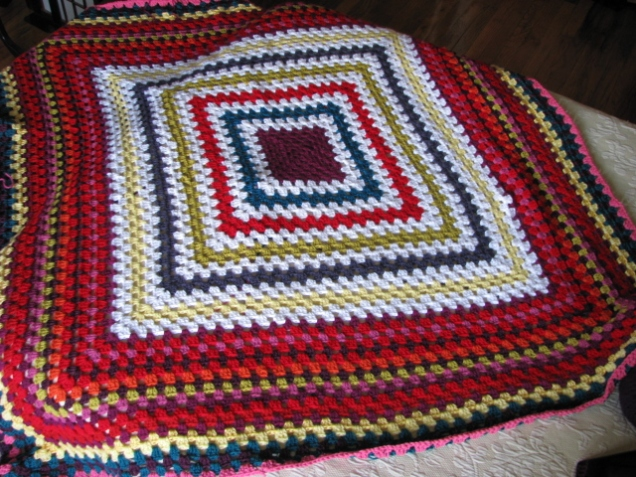Mood Blanket Progress