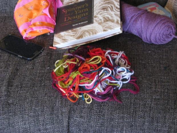 2014 Crochet Mood Blanket Scraps