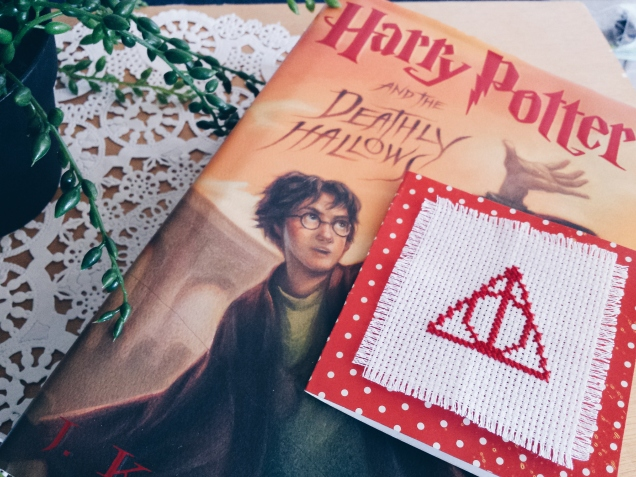 Deathly Hallows Cross Stitch